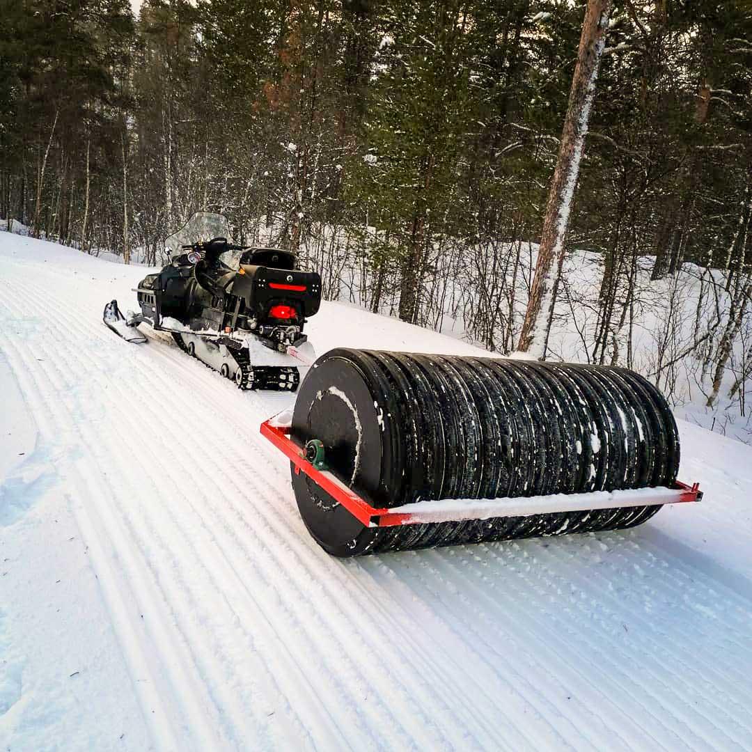 kompaktor for snøscooter og ATV